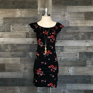 NEW Rebecca Taylor 'Marguerite' Floral Dress